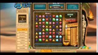 Diamonds Quest - jeux en ligne gratuits pour gagner des cade.mp4