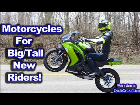 Beginner Motorcycles For Big Tall Riders Motovlog Youtube