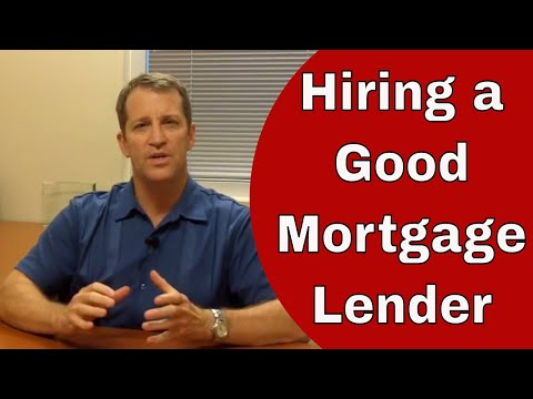 Importance of Hiring a Good Mortgage Lender - A TRUE Story