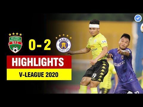 Highlights Bình Dương 0-2 Hà Nội | Quang Hải đổ máu - Hà Nội ghi điểm bằng penalty tranh cãi