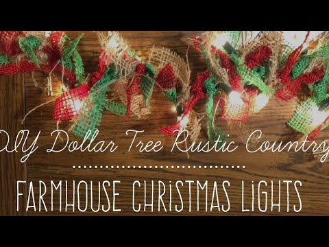 Make A Christmas Tree Out Of Lights