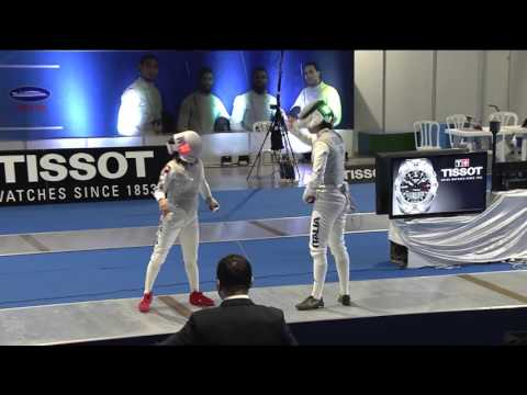 Fencing FIE GP, Havana, 2016, ladies' foil highlights