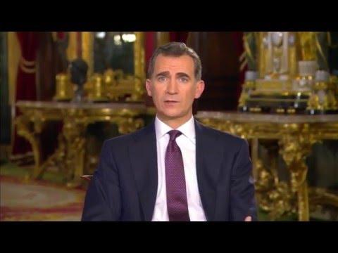Mensaje de Navidad de Su Majestad el Rey 2015