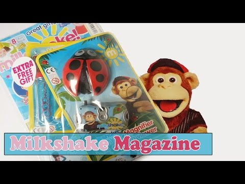 Milkshake | Magazine Review | Milkshake Monkey | Free Gifts