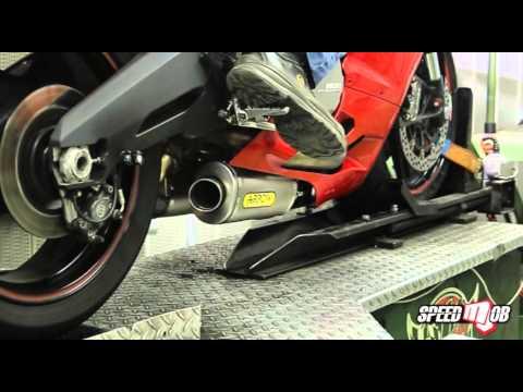 arrow slip-on exhaust 2015 ducati 899 panigale - youtube