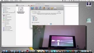 Playback partage multimédia entre console et Mac ! FRANCAIS