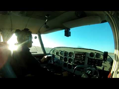 First Brigitte solo cross the country San Diego BrownTo Ramona Airport
