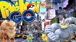 POKEMON GO IN NEW YORK CITY (SHINY POKEMON BATTLE) - Pixelmon Mod