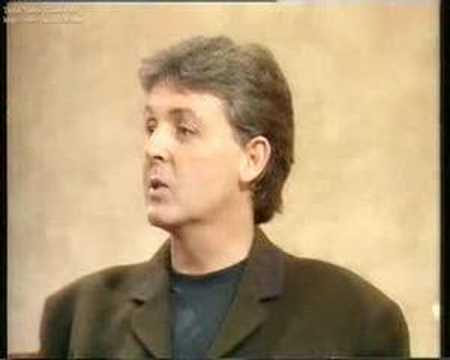 1987 Paul McCartney on Wogan Part 1/6