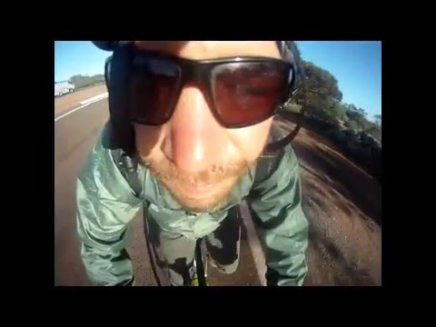 PUSH BIKING ACROSS AUSTRALIA