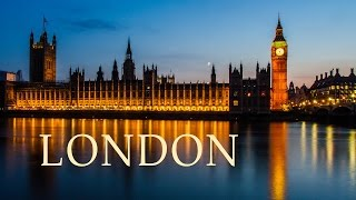 London tourism - England -United Kingdom - Great Britain travel video: Big Ben, Buckingham Palace