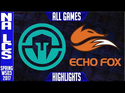 Immortals vs Echo Fox Highlights All Games - NA...