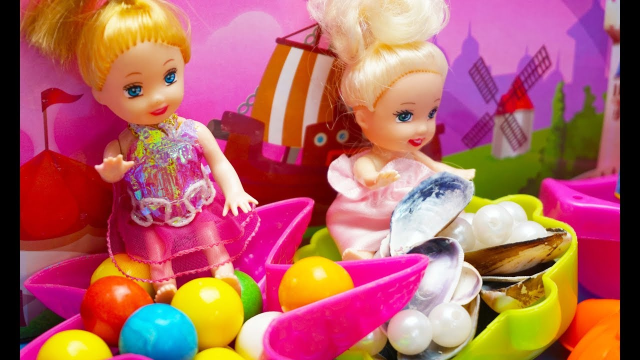 Barbie Playset Teman Laut Mainan Boneka Barbie Teman Laut Mainan Anak Barbie Sea Friends Toys Youtube