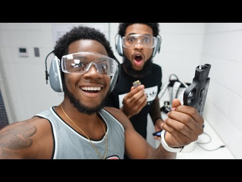 CHRIS AND QUEEN ALMOST SHOT ME AT THE GUN RANGE VLOG