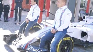 Felipe Massa and Valtteri Bottas Kick off the Formula 1 Season | AutoMotoTV