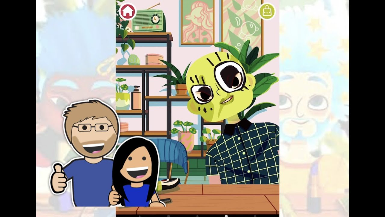 Toca Hair Salon 4 Part 2 - Lily & Dad (Smart Apps for Kids)
