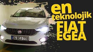 En Teknolojik Fiat Egea HB ile test sürüşü yaptık!
