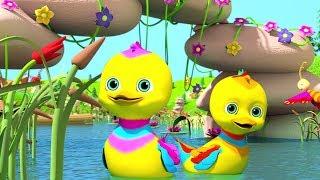 Five Little Ducks | Best Sing - Along Songs & Nursery Rhymes | Cartoons for Kids - Little Treehouse