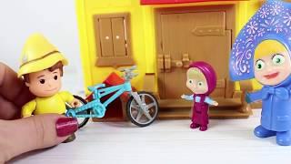 Maşa Heidi Peter Bisiklet Sürüyor Peterin Bisikleti Neden Kırıldı? Masha And Bear Çizgi Film