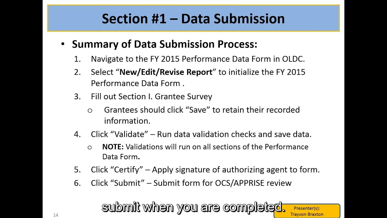 FY 2015 LIHEAP Performance Data Form Requirements – New ...