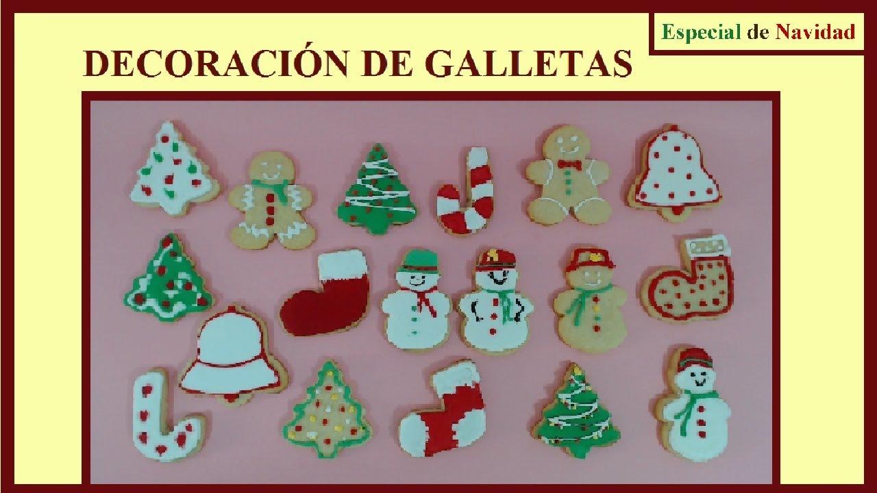 Galletas De Navidad Galletas Decoradas Royal Icing Glasa Real Galletas De Mantequilla