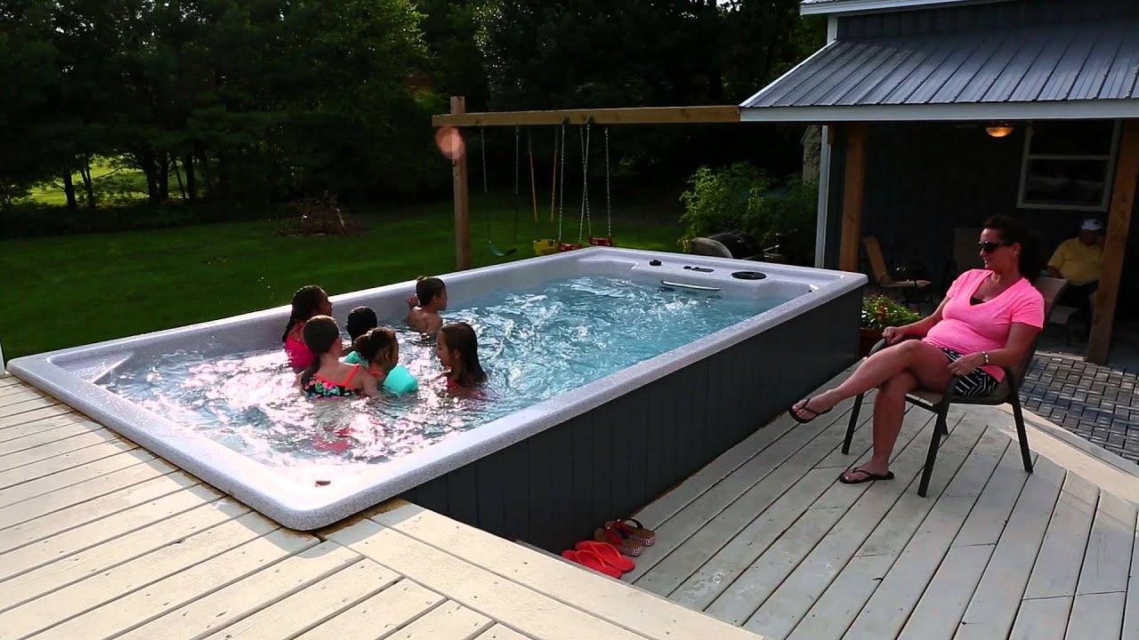 swim spa party youtube. Black Bedroom Furniture Sets. Home Design Ideas