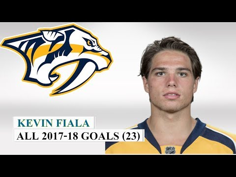 Wild Blog - VIDEO: See ALL 23 Of Kevin Fiala's goals from last season | #MNWild