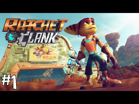 LEGIT THE ONLY REASON I BOUGHT A PS4 - Ratchet and Clank Playthrough Part 1