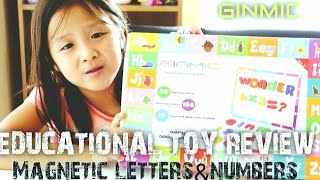 Baixar EDUCATIONAL MAGNETIC LETTERS & NUMBERS PUZZLE   TOY REVIEW By Cherry Curly Sista