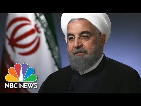 Iranian President Rouhani: If U.S. Leaves Iran Deal, No One Will Trust America Again | NBC News
