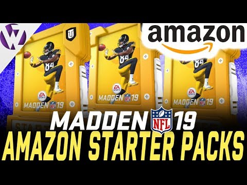 AMAZON GAME CHANGER PACKS! - Madden 19 Pack Opening