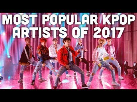 Most Popular Kpop Artists of 2017