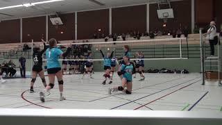 Волейбол.  Девушки. U-18. Германия. Игра команд городов Шверте и Аахен