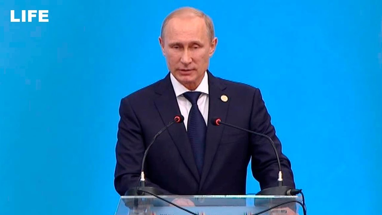 Путин на пленарном заседании БРИКС