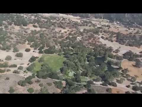 Flight over Michael Jacksons Neverland 2014