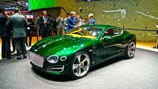Bentley EXP10 Speed 6, concept