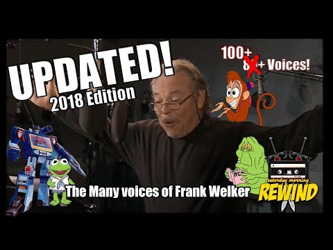 Many Voices of Frank Welker *UPDATED In 2018* 100 Characters HD High Quality