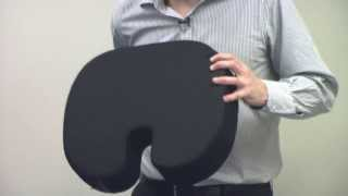 How to Correctly Use the Original McKenzie Coccyx Cushion - Relieve Tailbone Pain