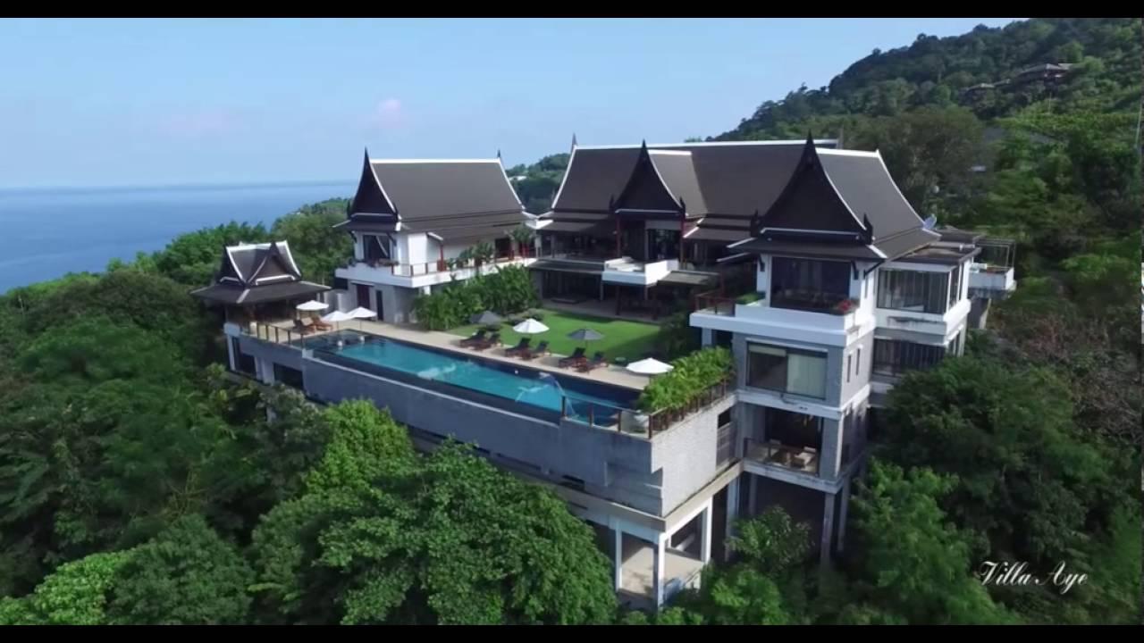 Location villa de luxe phuket jftb immobilier thailande location phuket youtube for Location luxe