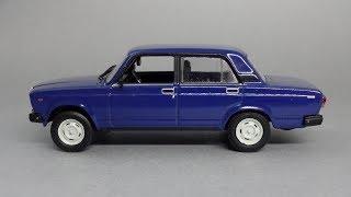 ВАЗ-2107 «Жигулі»   Автолегенды СССР №31   Огляд масштабної моделі 1:43