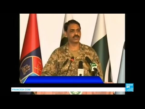 """Pakistan's military spokesman: """"Inside Afghanistan, the Islamic state group is getting stronger"""""""