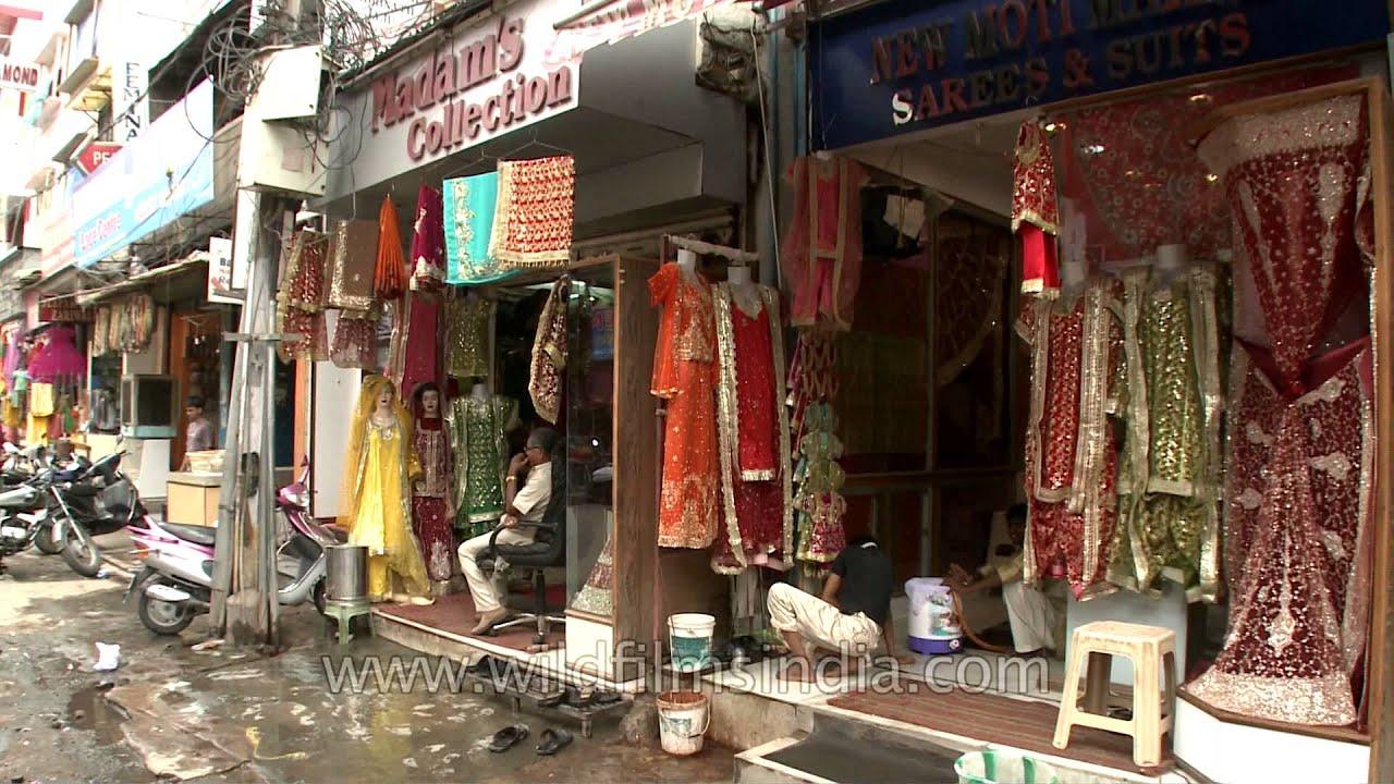 hyderabad s favourite market charminar bazaar youtube