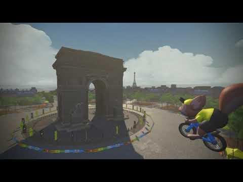 Stage 6 Virtual Tour de France Highlights