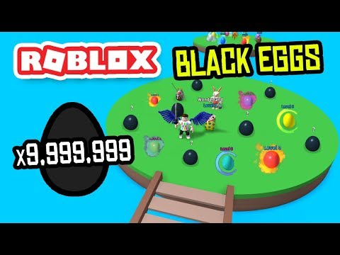UNLOCKING BLACK EGGS In ROBLOX EGG FARM SIMULATOR