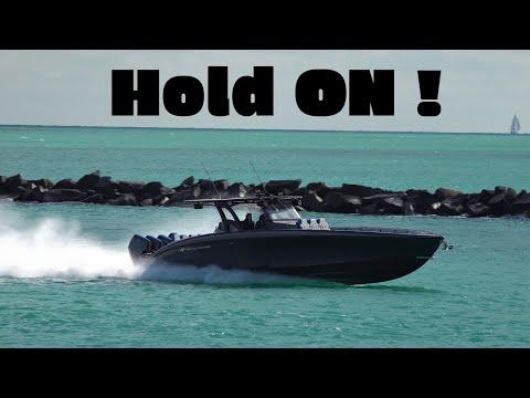 Midnight Express Wide Open Throttle ! Belzona doing Sea Trials !
