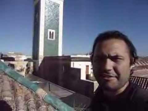 Llamada al rezo en la Medina de Meknès