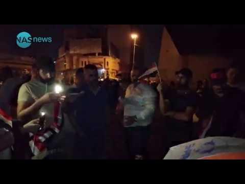 انباء عن مقتل مراسل قناة السومرية الان في ساحة التحرير ومحاصرة مقر عبد المهدي في علاوي الحلة