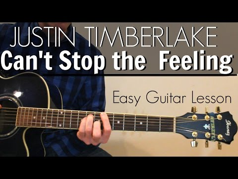 Justin Timberlake - Can't Stop the Feeling | Easy...