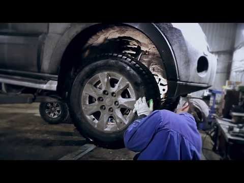 Комплексная диагностика и ремонт ступицы Mitsubishi Pajero IV