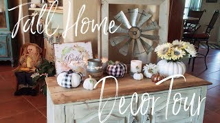 Fall Home Decor Tour 2018 | Welcome to my Home!